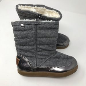 Stevie's Winter Boots Size 3 Gray